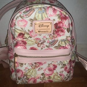 Disney Loungefly Backpack-Belle and Mrs.Potts